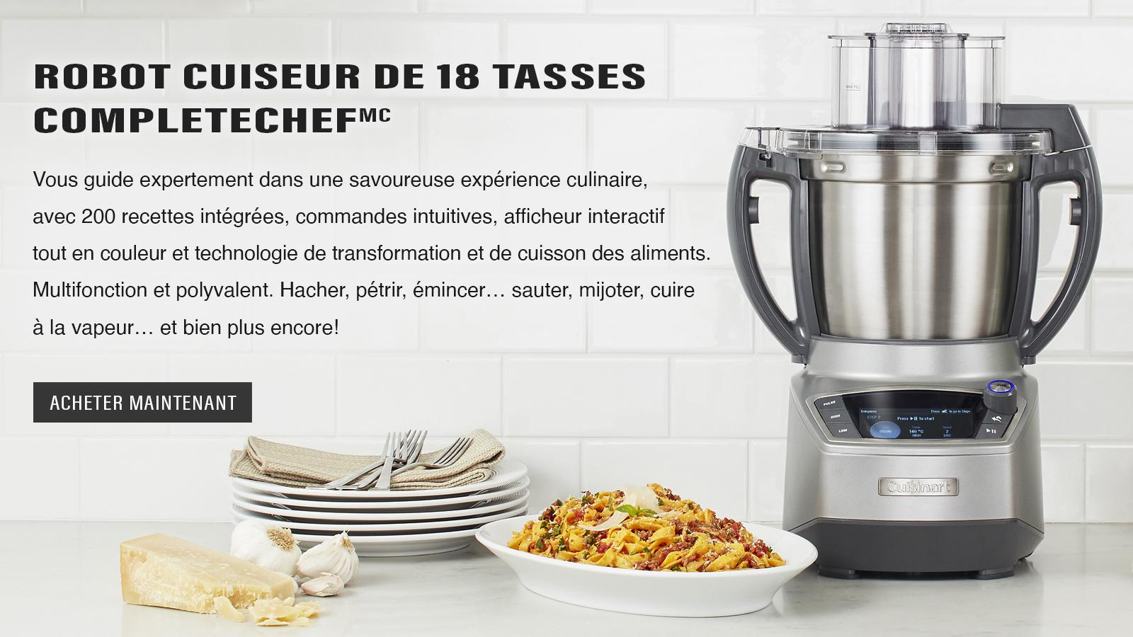 CompleteChef™ robot cuiseur