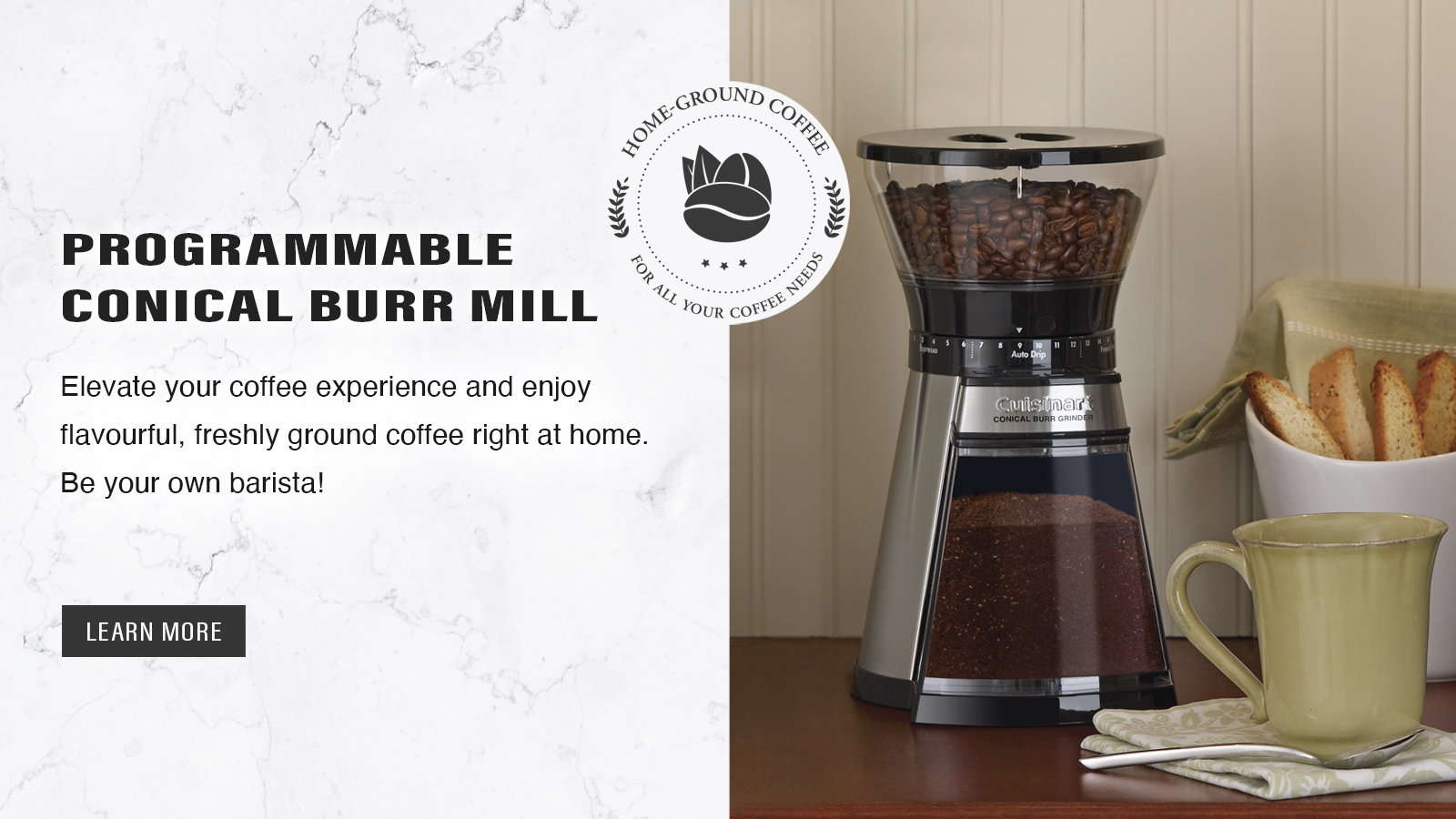 Programmable Conical Burr Mill