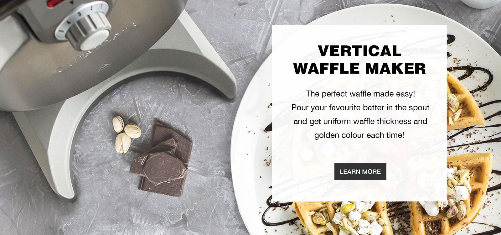 Vertical Waffle Maker