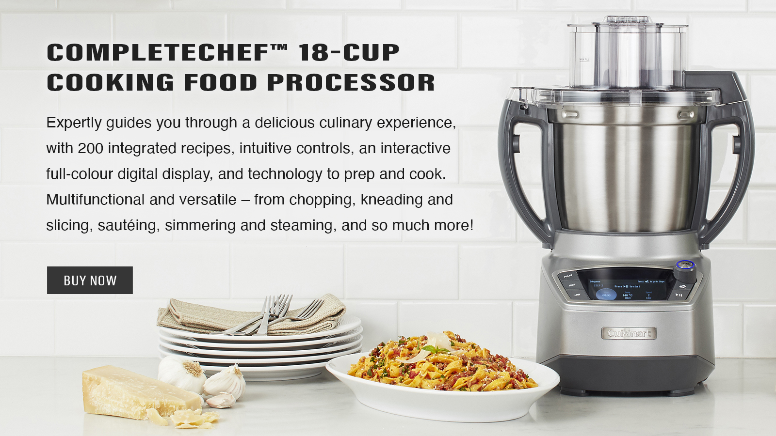 CompleteChef™ Cooking Food Processor