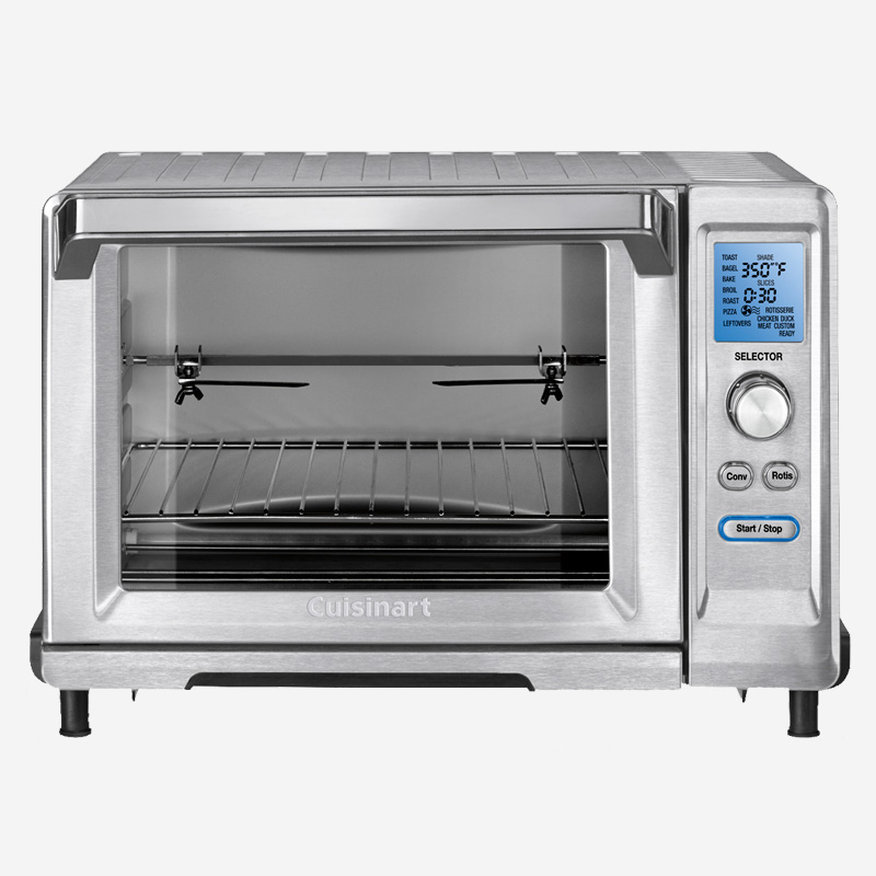 rotisserie convection toaster oven cuisinart. Black Bedroom Furniture Sets. Home Design Ideas