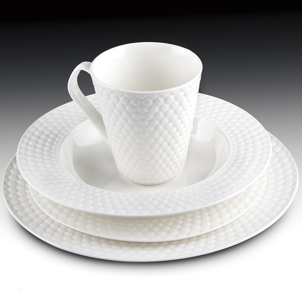 ... 16-Piece Set Porcelain Dinnerware - Chailles Collection  sc 1 st  Cuisinart & 16-Piece Set Porcelain Dinnerware - Chailles Collection | Cuisinart