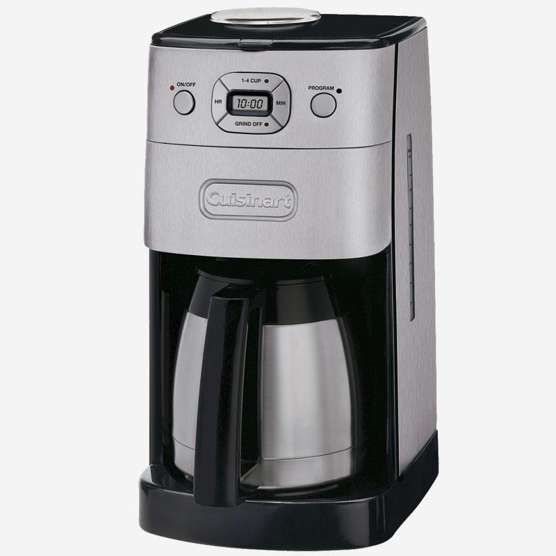 cafeti re automatique moulin int gr avec verseuse isolante de 10 tasses grind and brew. Black Bedroom Furniture Sets. Home Design Ideas