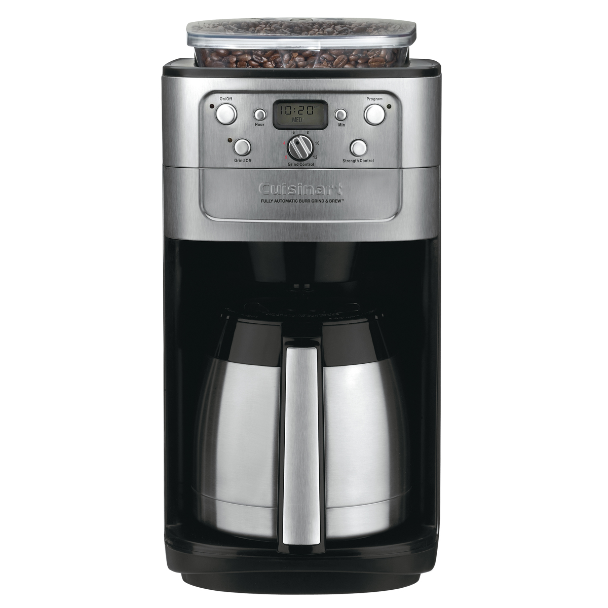Fully Automatic Burr Grind And Brew Thermal 12 Cup