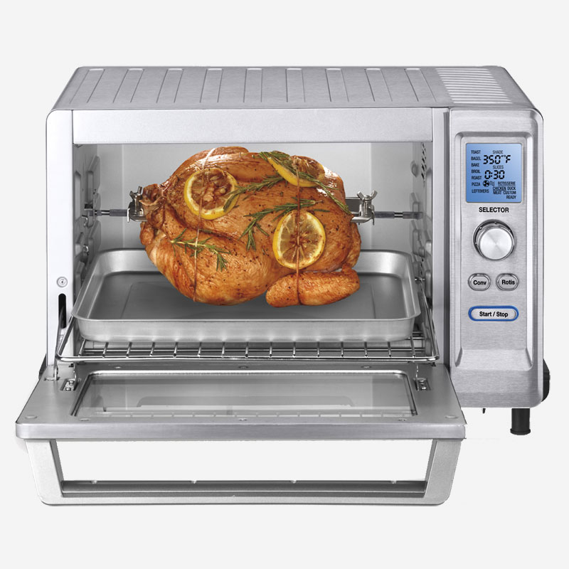 Toasters Toaster Oven Roasters: Rotisserie Convection Toaster Oven