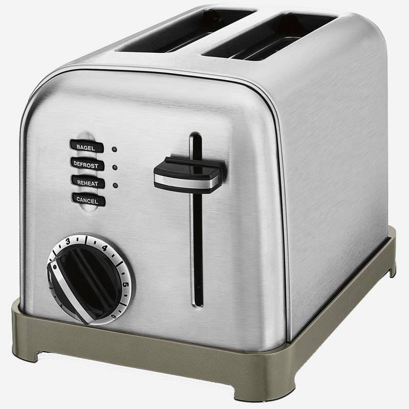 Cuisinart Metal Classic 4 Slice ToasterCompact 4slice