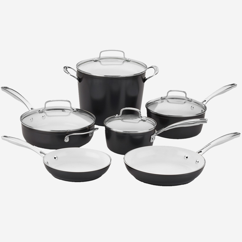 10 Piece Cuisinart Elements Pro Induction Non Stick