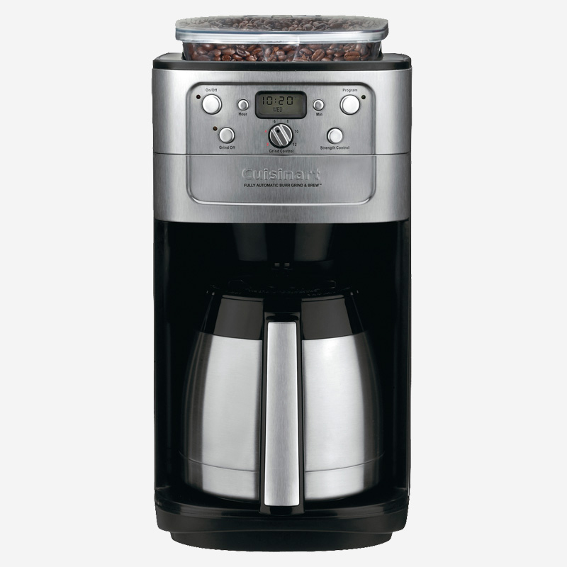 Fully Automatic Burr Grind and Brew Thermal 12 Cup Coffeemaker ...