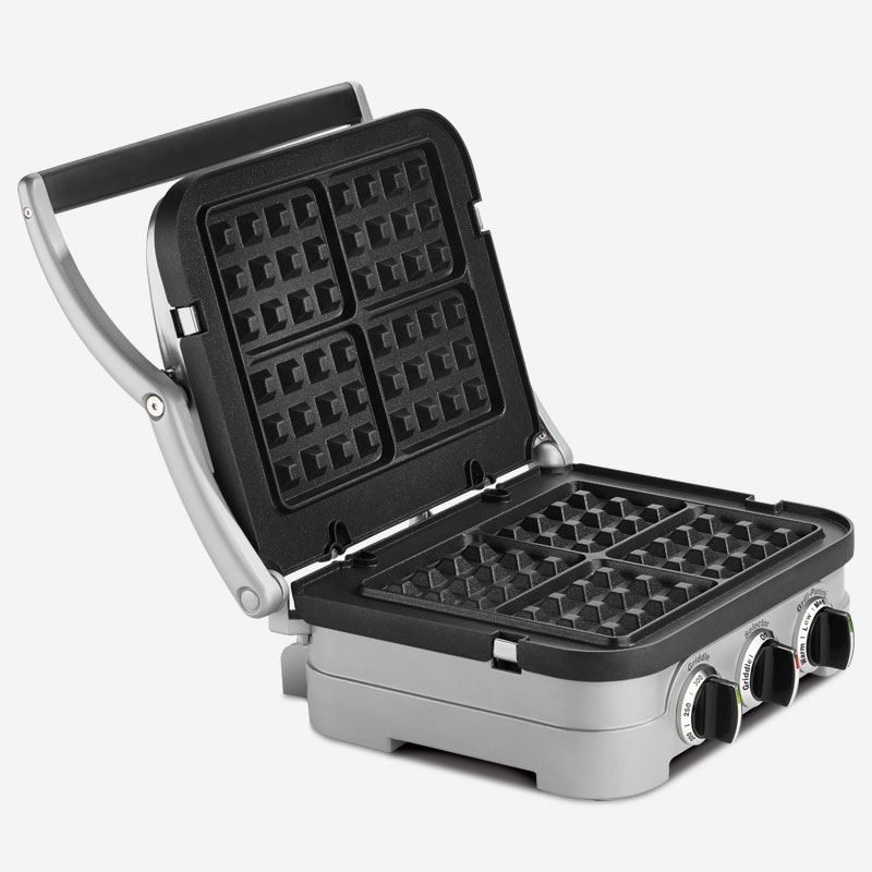 Griddler with Waffle Plates - ca-cuisinart