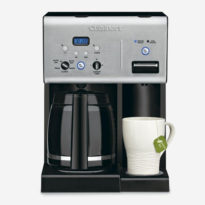 Programmable Coffeemaker Hot Water System Brewer Grinder Kitchen Appliance